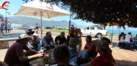 Kaffepause in Hermanus
